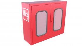 Emergency Fire Hose Case Window 3D Model 15