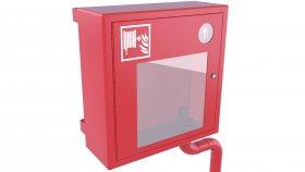 Emergency Fire Hose Box Window Key 3D Model 17