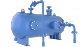 Industrial Vessel Tank Gas Low Poly 3D Model Game 57