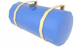 Fuel Tank Storage Low Poly Games Mods 3D 12