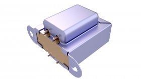 Single Phase Electrical Transformer 3D Model 65