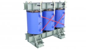 Cast Resin Power Transformer 3D Model 68