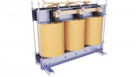 Oil Immersed Core Transformer 3D Model 69