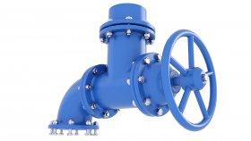 Industrial Valve Water 3D Model 23
