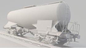 Lowpoly Train Tanker Zans Zacns 3d (11)