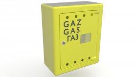 Gas Meter Cabinet 3D Model 5