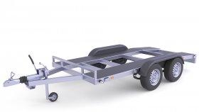 Trailer Car Tow Truck 3D Model 24