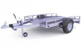 ATV Quad Trailer 3D Model 25