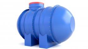 Water Septic Fertilizers Tank 3D Model 8