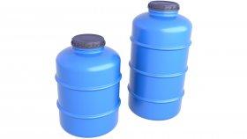 Plastic Water Tank 3D Model 4