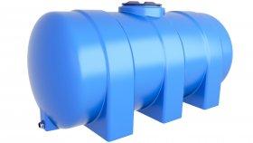 Horizontal Water Storage Tank 3D Model 7