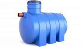 Underground Rainwater Septic Tank 3D Model 24
