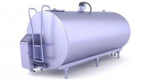 Milk Storage Tank 3D Model 6