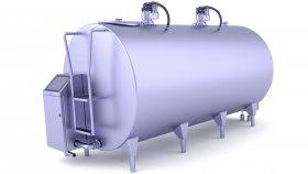 Milk Cooling Tank 3D Model 7