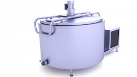 Milk Tank 3D Model 9