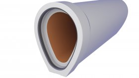 Concrete Sewer Pipe 3D Model 20