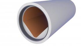 Precast Concrete Sewage Pipe 3D Model 21