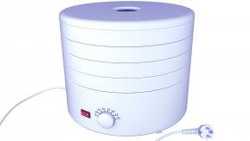 Electric Food Dehydrator 3D Model 3
