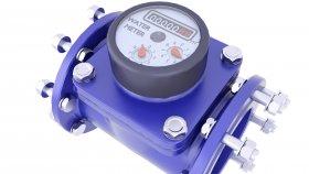 Industrial Water Meter 3D Model 3