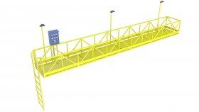 3D Model Crossover Platform 15