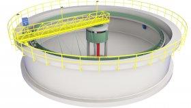 Water Treatment Plant 3D Model 1