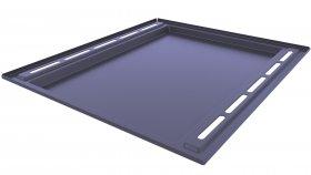 Oven Baking Tray 3D Model 1