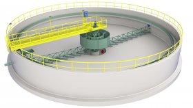 Sewage Treatment Plant 3D Model 4