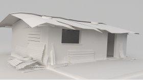 Shed Slum Game Mods 3D Model 3