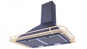 Traditional Copper Range Hood 3D Model 29