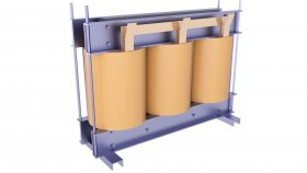 Oil Immersed Core Transformer Low 3D Model 69