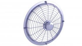 Fan Cover 3D Model 1