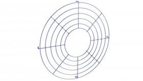 Fan Grid 3D Model 3