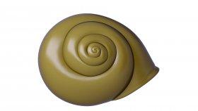 Snail Shell 3D Model 2
