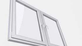 PVC Window 3D Model 2