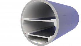 Underground Highway Tunnel 3D Model 23