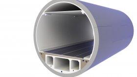 Underground Road Tunnel 3D Model 24
