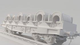 Coil Car 3D Model