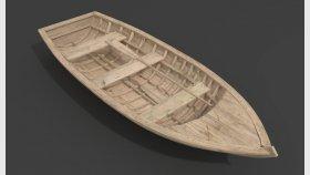 Wooden Boat Textures 3d