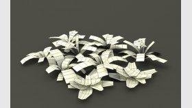 Weeds Dandelion 3D Model