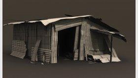 Metal Shed, Slum 3D Model 1