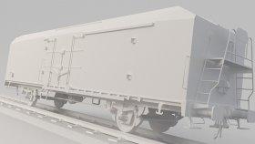 Refrigerator Car Mods Game 3D Model 5
