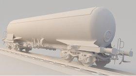 Lowpoly Train Tanker Zags 3d (14)