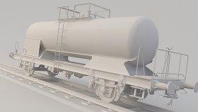 LowPoly Train Tanker Zcs 3d (24)