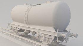 Lowpoly Train Tanker Cement PCA 3d (25)
