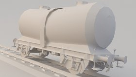 M Lowpoly Train Tanker 25