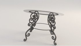 Table Forged Classic 3d 3