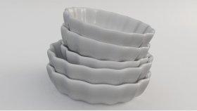 Porcelain Baking Dish 3D Model