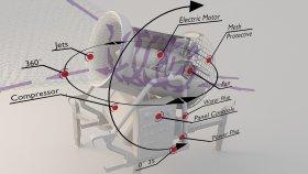 Inside Snow Cannon Diagram 1 3d