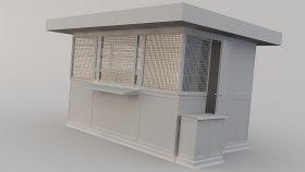 Newsstand 3D Model 1