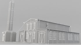 Lowpoly Building Factory (4)